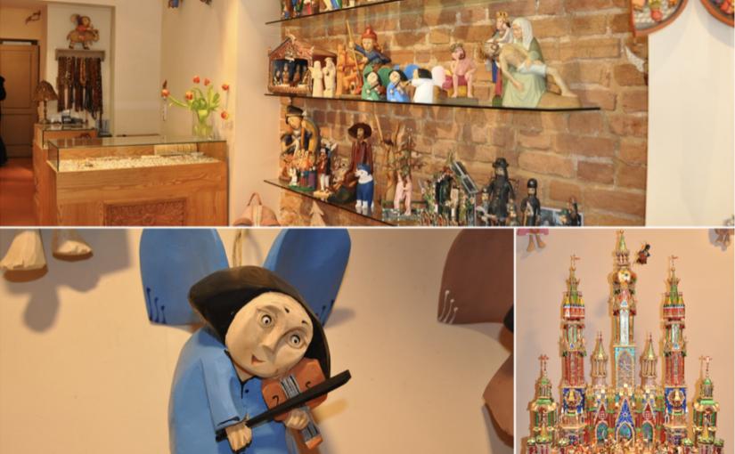 Drewniane ręcznie produkowane anioły oraz szopki bożonarodzeniowe idealne na prezent